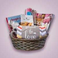 Orchid Gift Creations - Baking gift basket
