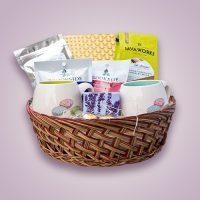 Orchid Gift Creations - Relaxation gift basket