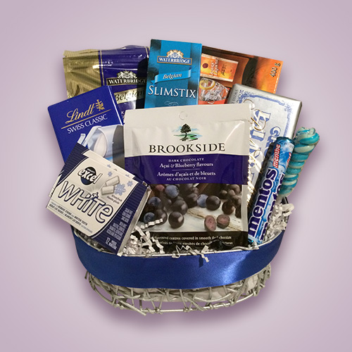 Orchid Gift Creations - Chocolate gift basket